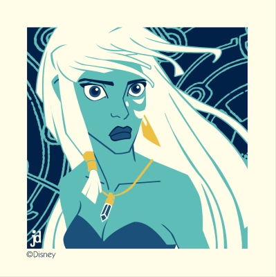 Handbill - Kida from Atlantis