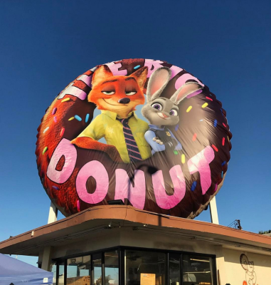 Zootopia - Randy's Donut Takeover Event