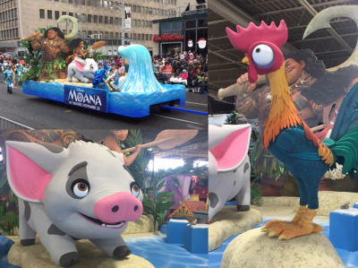 Moana Parade Float Design