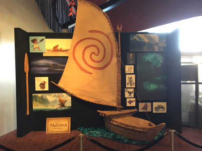 Moana Arclight Theater Display