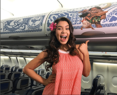 Hawaiian Airlines Moana Takeover