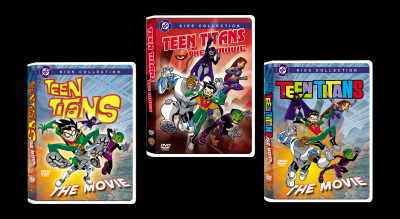 Teen Titans DVD/Video Packaging