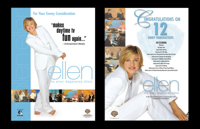 The Ellen DeGeneres Show Emmy Trade Ads