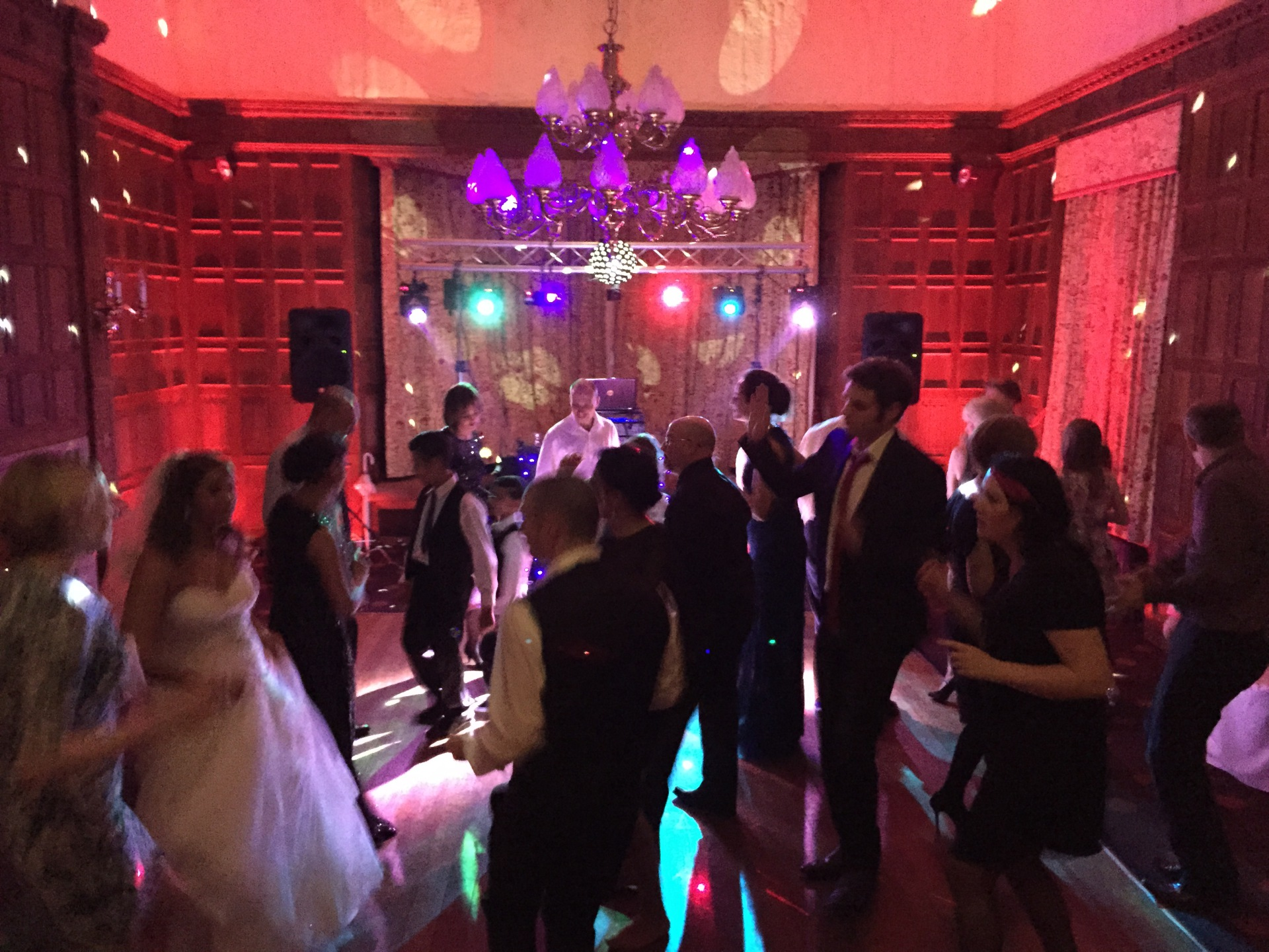 Dumbleton Hall Evesham mobile disco