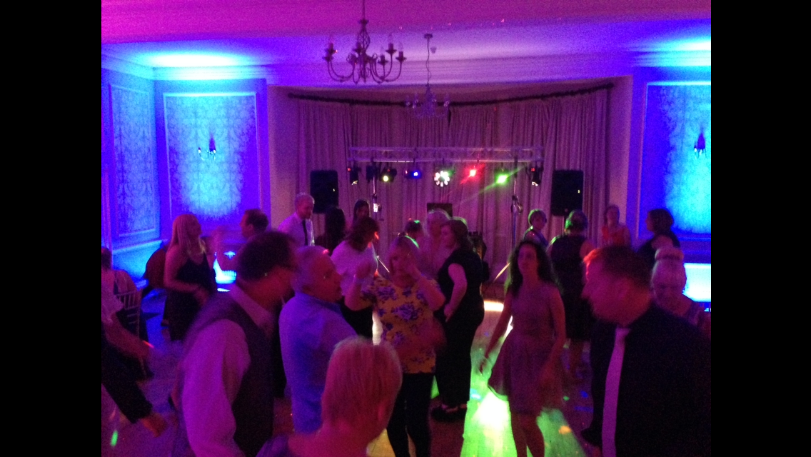 Eastington Park bride dancing disco