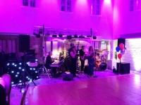Disco with live band at Ellenborough park Cheltenham