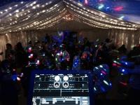 Mobile disco marquee wedding cheltenham