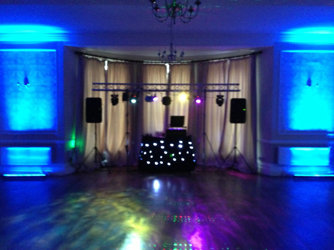 First Dance Mobile Disco at Eastington Park Gloucestershire