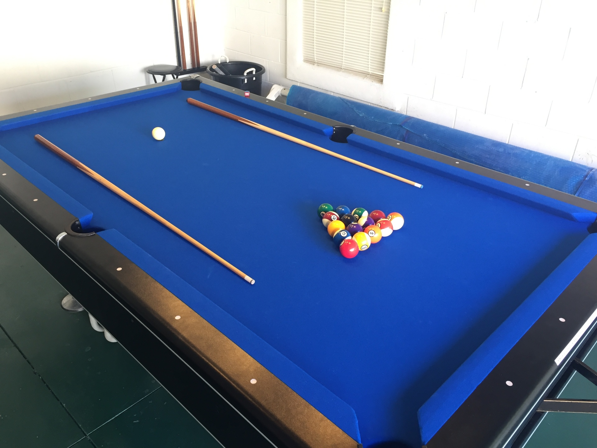 Emerald Villa in Florida pool table