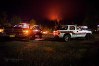 Estacada and Hoodland Fire Department at the 36 Pit Fire in Oregon