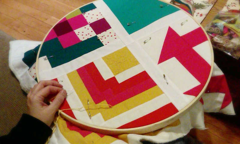 Big Stitch Handquilting