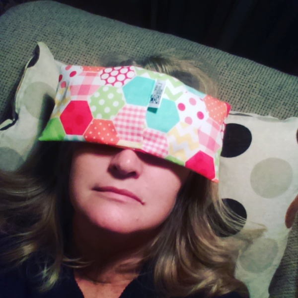 ice pack, hot pack, eye mask