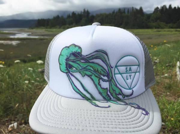 "CUSTOM ""Jellyfish"" on Grey Hat"