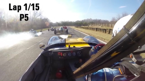 Ginetta G4 vs. Formula Ford vs. Lotus 7
