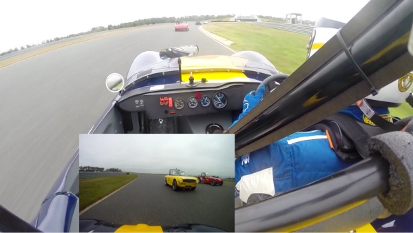 Ginetta G4 vs. Lotus Super 7, NJMP