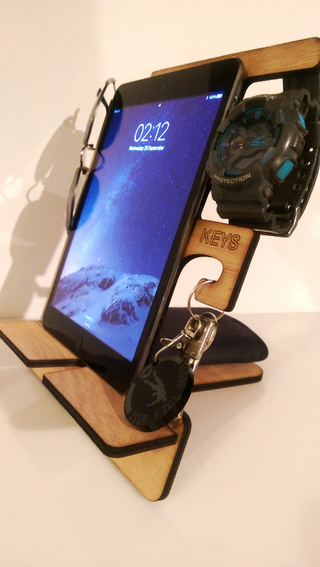 Fortnite phone organiser