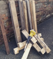 Reciprocating saw and pallets