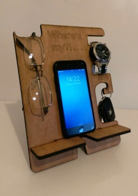Phone docking station