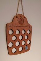 Wooden boards for saving pounds while you lose the lb's!