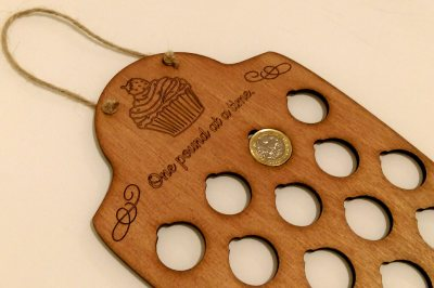 Laser cut products related to weight loss and slimming