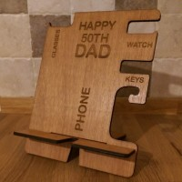 Personalised phone holder