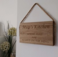 Mums Kitchen wall hanging