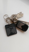 Fortnite online game keyring