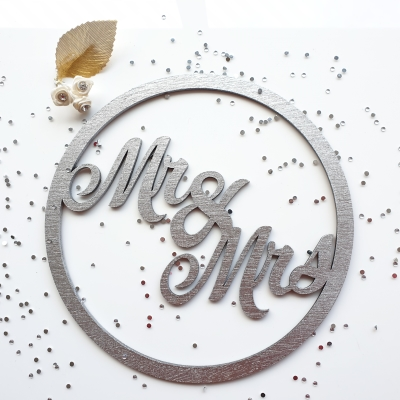 Laser cut wooden names for weddings and crafts