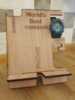 World's Best Grandad phone organiser