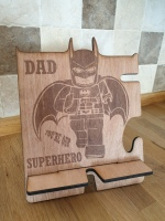 Batman phone holder