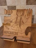 Wolverine phone holder
