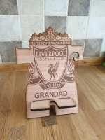 Liverpool personalised phone holder