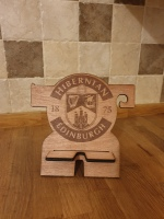 Hibernian phone holder