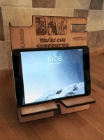 Marvel style Ipad holder