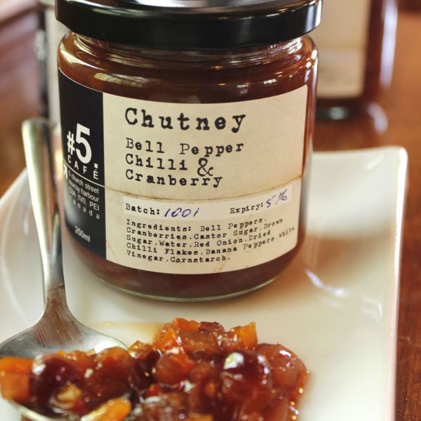 Bell Pepper Chutney