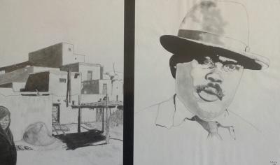Pueblo Girl and Marcus Garvey