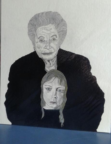 Grandmother with grandchild