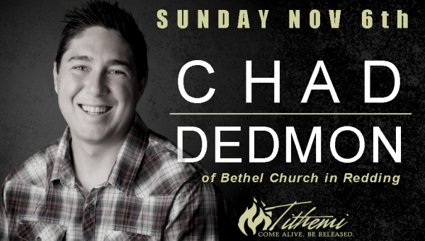 Chad Dedmon of Bethel Church in Redding