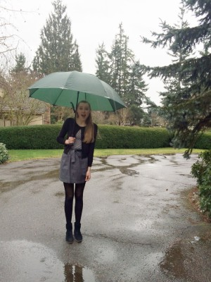 Rainy Weather and Skirts?