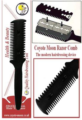 coyote Moon Razor Comb