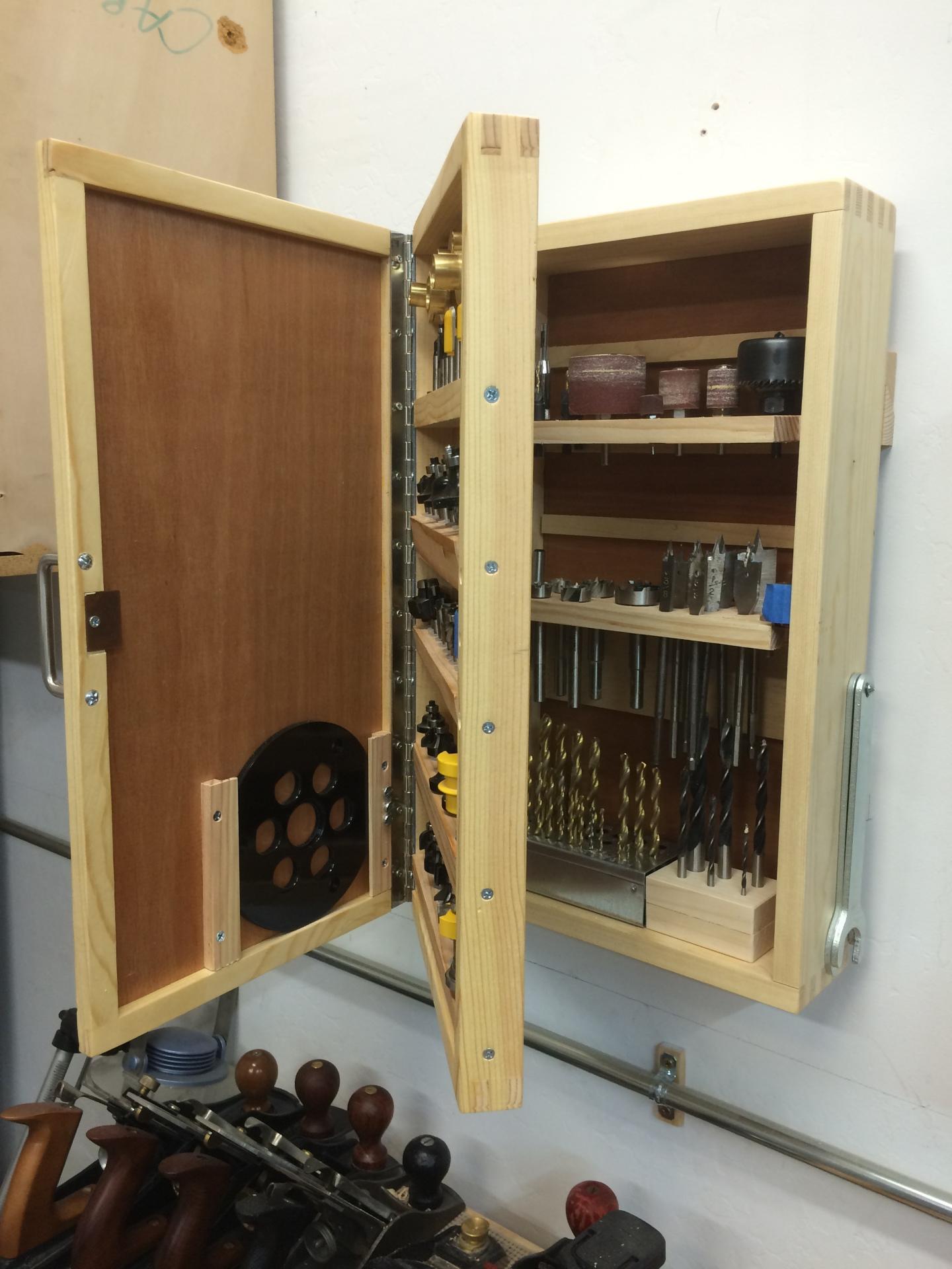 Tool Bits Storage