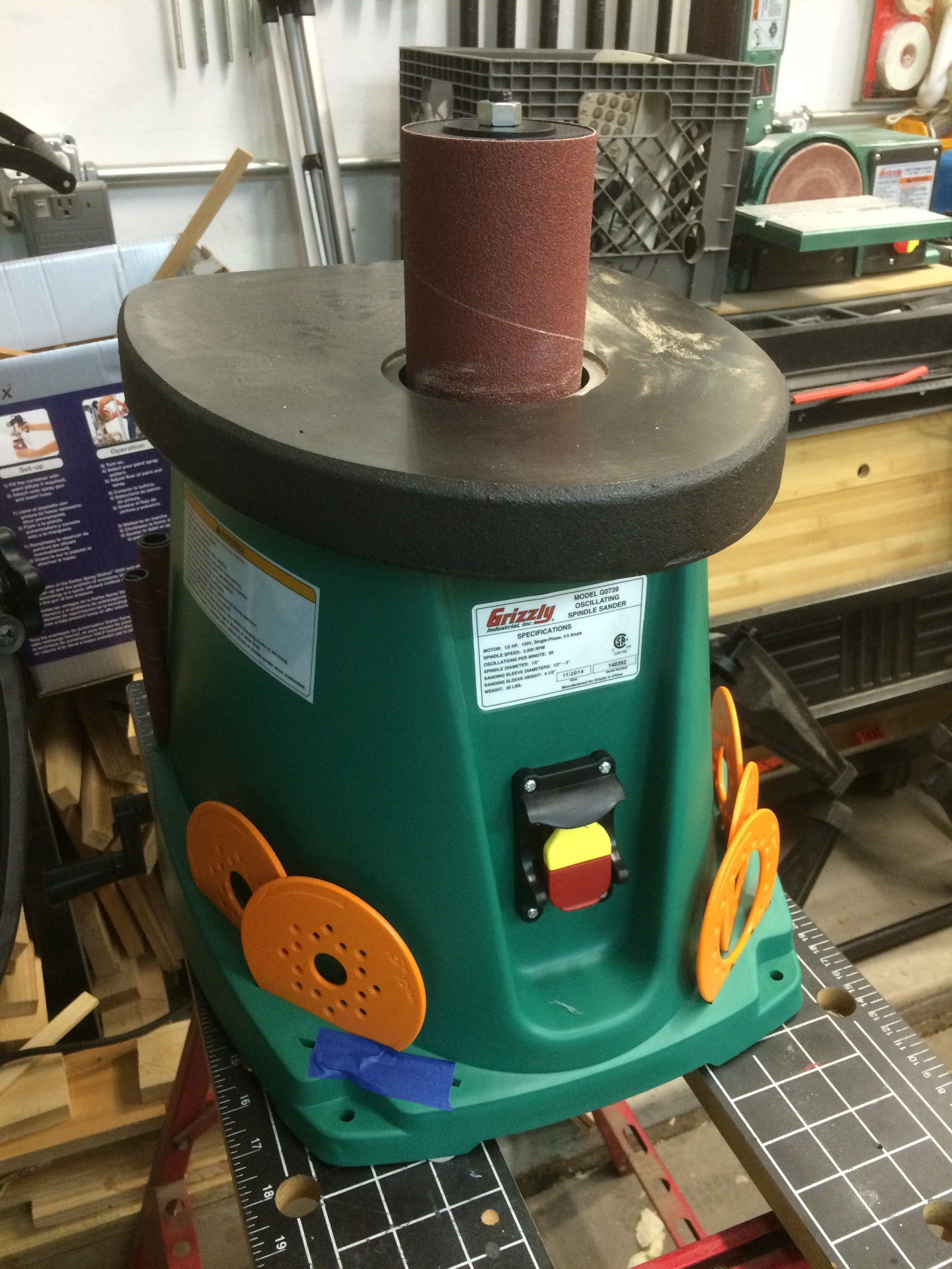 Orbit Spindle Sander