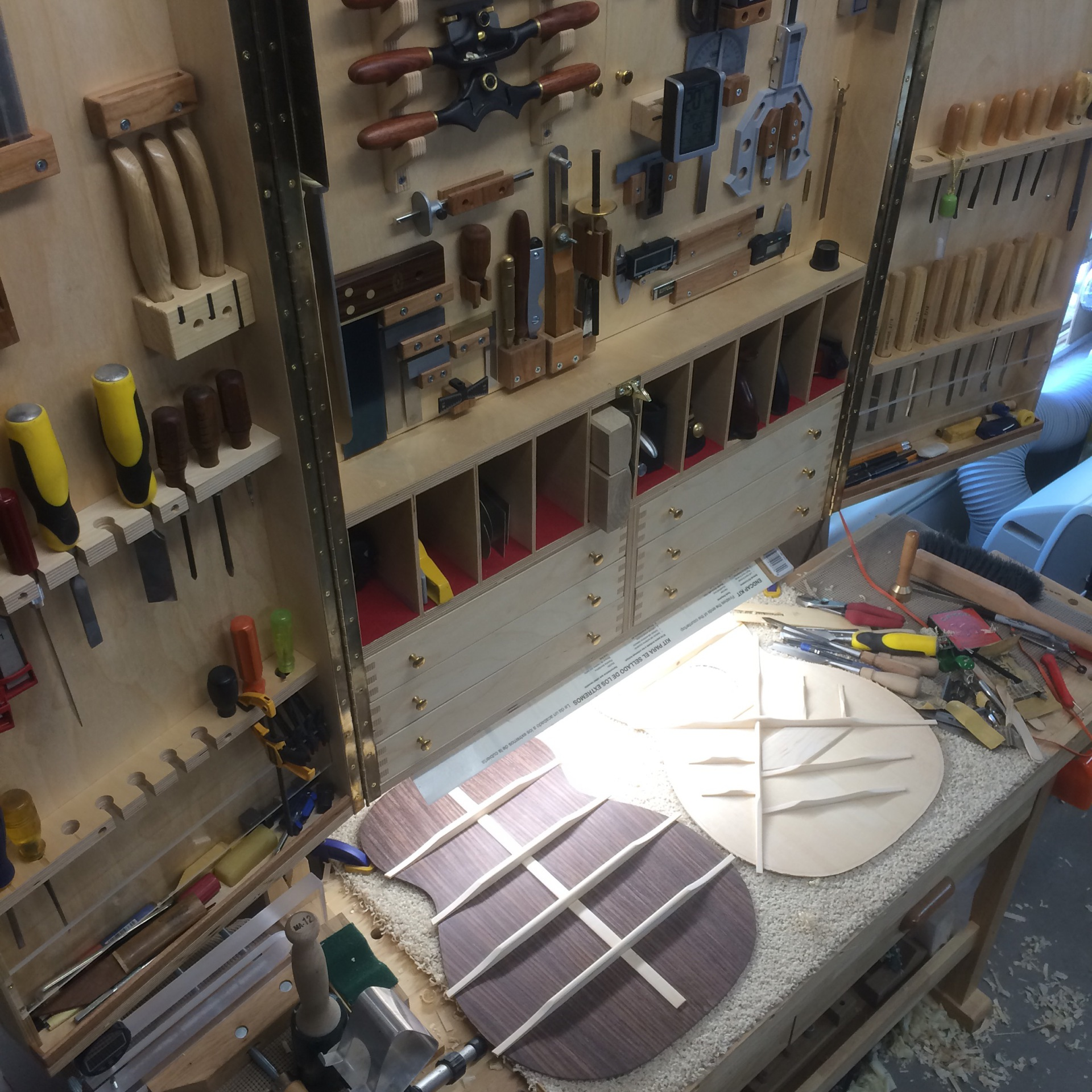 Workbench & Tool Cabinet