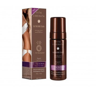 How to use a Self-tan Mousse in 4 easy steps!