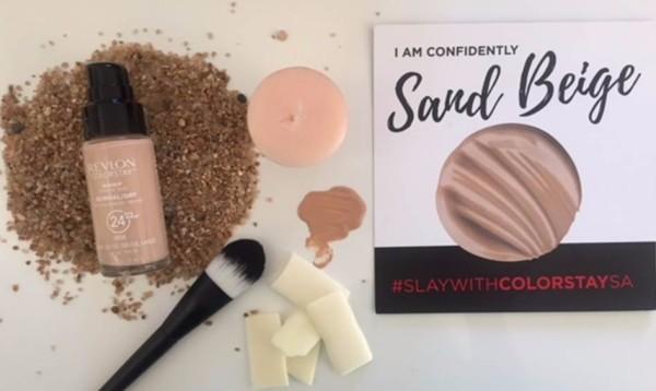 Revlon Colorstay foundation sand beige
