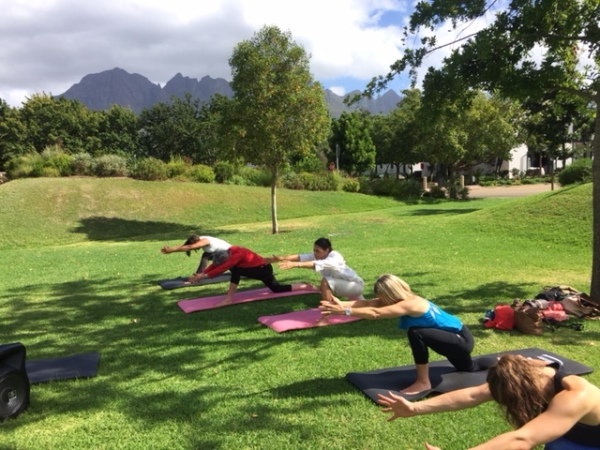 A day at the Life Retreat at Lourensford Wine Estate