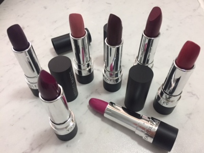 Review: Yardley Intense Matte Lipsticks & Swatches