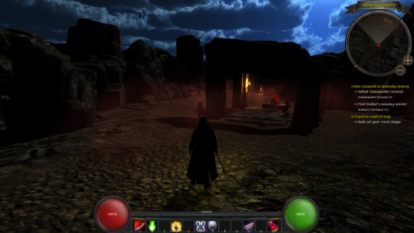 Quest HUD and Minimap now in place..