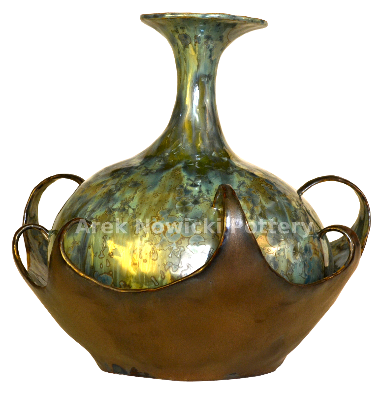 sold pottery vessel
