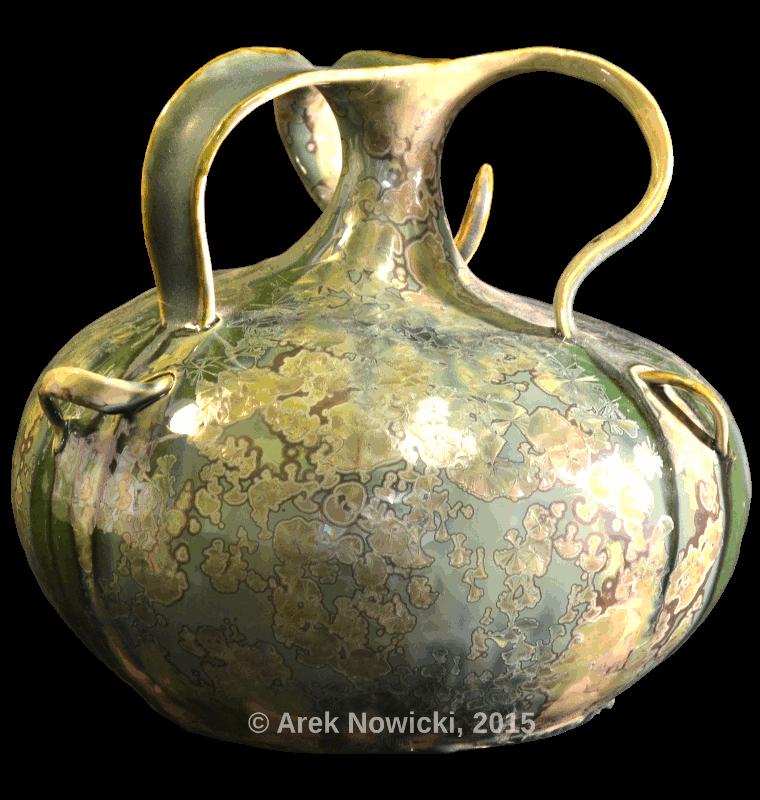 sold pottery vessel